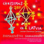 Christmas Joy In Latvia - CD Cover